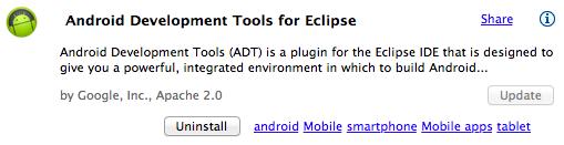 Plugin ADT para Eclipse